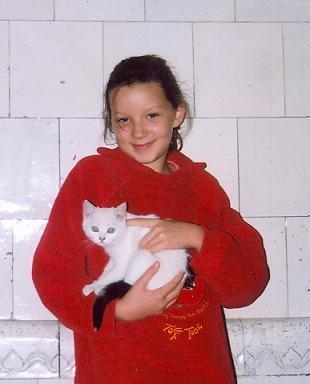 z cyklu nasze zwierzątka Ola i Lusia Nysa 2007