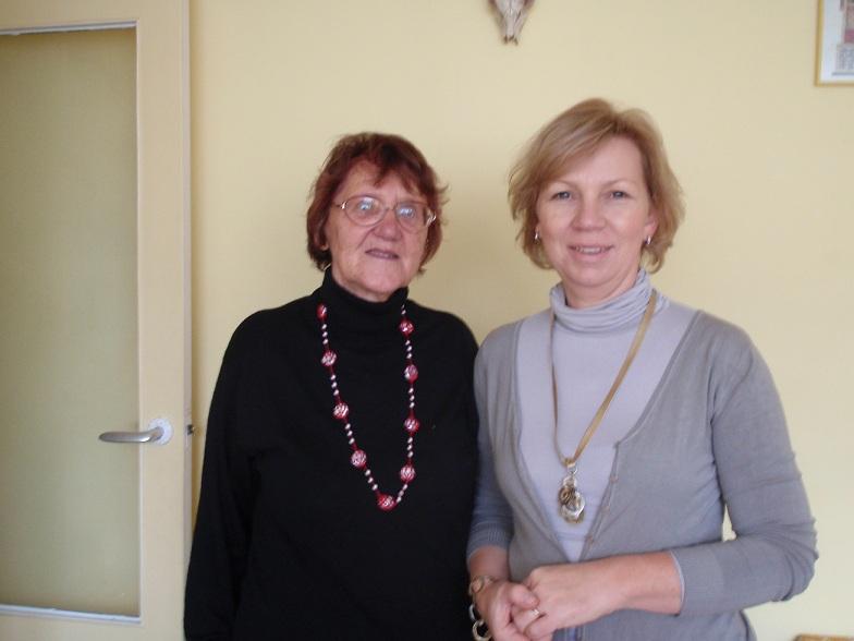 Janina Łaba i Bożena Heronimek - Nowicka Duszniki Zdrój 30 październik 2011 rok