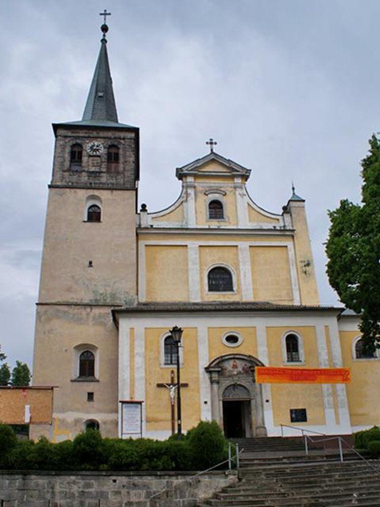 Duszniki Zdrój Kościól Św. Piotra i Pawła od przyjazdu z Syberii w 1946 roku to tutaj odbywały się najważniejsze wydarzenia w Rodzinie Nowickich
