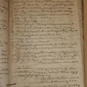 Kazimierz Nowicki i Marianna Łukaszewiczówna 15 luty 1840 r Księga egzaminów przedślubnych Parafii w Połoneczce